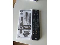 Universal remote control , almost brand new