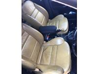 Audi A3 leather heated seats yellow