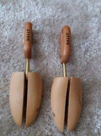 BALLY, pair retro wooden shoe trees