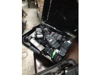 Old video cameras