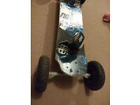 MBS Atom 95 Mountain kite offroad skate board