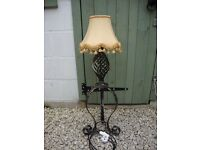 Wrought Iron Table Lamp.