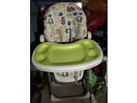 Cosatto suppanoddle high chair