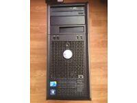 Dell Optiplex 780Computer Intel Core 2 With Windows 10 Pro and 17 Inch Monitor