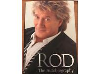 HARDBACK - ROD STEWART THE AUTOBIOGRAPHY- GREAT CONDITION