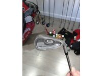 £69 for FULL SET GOLF CLUBS JOHN LETTERS TRILOGY + CALLAWAY GOLF BAG + FREE EXTRAS see description