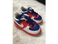Boys Nike limited edition size 3 infant