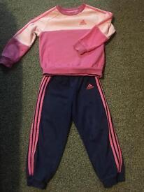 Adidas tracksuit age 2-3 girls