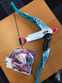 NERF Rebelle Bow and darts
