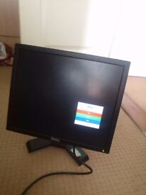 Dell 17 Inch Flat Screen monitor