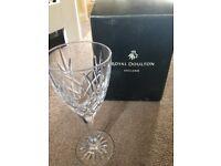 Royal Daulton Crystal glasses