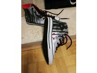 Boys Converse reflective Trainers VGC size 4