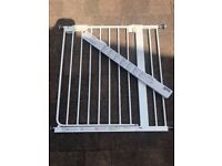Ikea stair gate with extension kit
