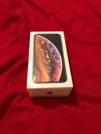 iPhone XS 64GB gold, new sealed vodaphone