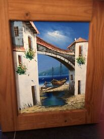 Stunning framed painting