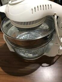 Cookshop 12L Halogen Oven Cooker with Hinged
