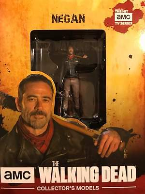 Eaglemoss The Walking Dead Negan Figure With Collector Magazine  26 New In Box