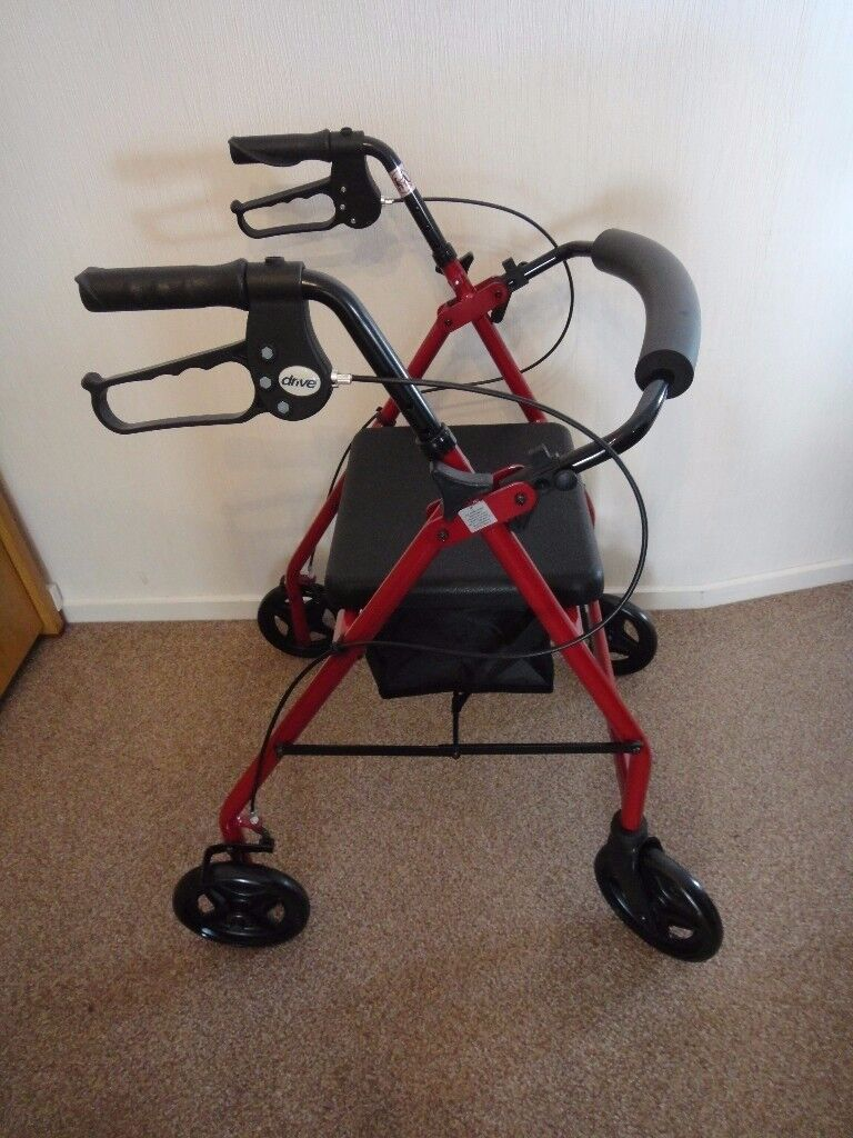 Drive mobility walker light weight 4 wheel rollator