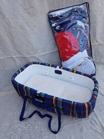 Mamas and papas Moses basket and carry cot