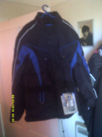brand new motorbike jacket size 44l with tags