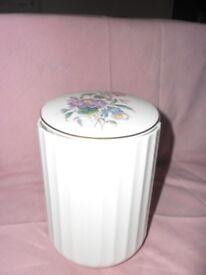 English bone china sweet jar