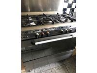 Baumatic range cooker 5 burner