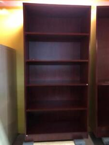 Bookcase - 4 Adjustable Shelves - Cherry - Showroom Special
