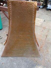 copper chimney hood