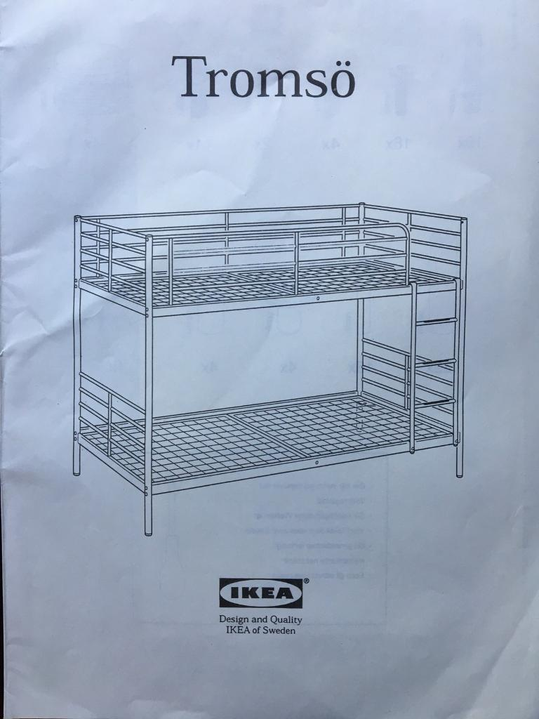 Ikea Tromso Bunk Bed In Selby North Yorkshire Gumtree