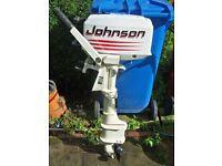 OUTBOARD JOHNSON 4HP LONGSHAFT