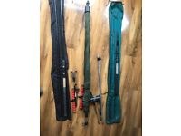 Multiple fishing rods and equipment - Selling as one lot