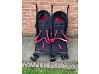 Mac by Maclaren double stroller