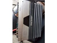 alpine ampliefier monoblock ( amp pioneer kenwood vibe fusion