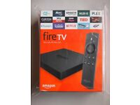 Amazon fireTV New (unopened)
