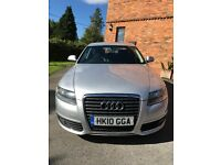 AUDI A6 2.0 tdi 2010. Sat nav, Leather, Auto lights, Auto wipers. Full service history.