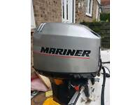 40hp mariner outboard engine oil injection
