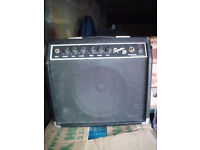 Squier 15 guitar amp by Fender 42W good condition good sound combo amplifier rehearsal Squire