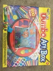 Jumbo art box