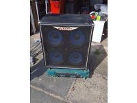 Ashdown EVOII 300 head and 4 speaker cab (600W)
