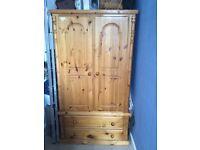 Bargain beautiful wooden wardrobe