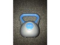 York fitness 3kg kettlebell