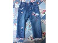 Next Embroidered Jean (2 - 3 years)