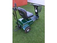 Patterson trio golf buggy almost new