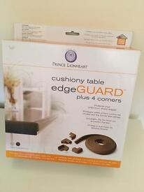 Cushion table edge guard BROWN
