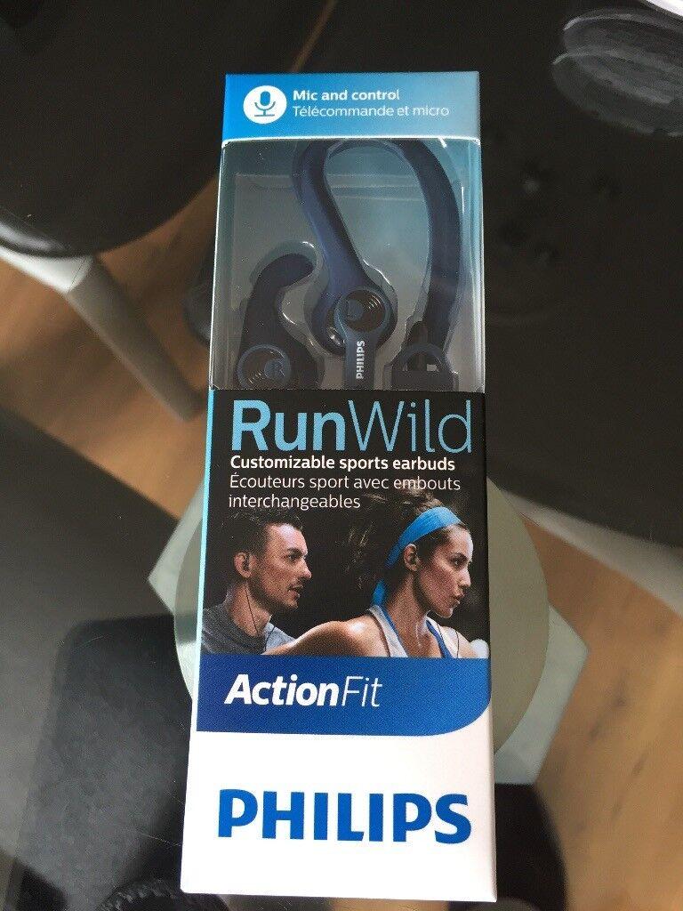 Philips action fit headphones