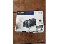 Sony handycam HDR-CX190E