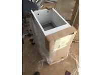 Designer showroom selling unused stock- 2 designer cabinets with soft close draws & designer handles
