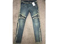 Men's Balmain jeans W32 L32 slim fit