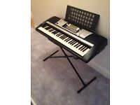 Fabulous condition yamaha keyboard and stand