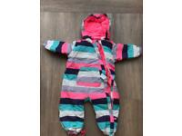 Girls snowsuit 18-24 months